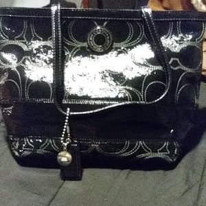 Leather couch purse (never used)